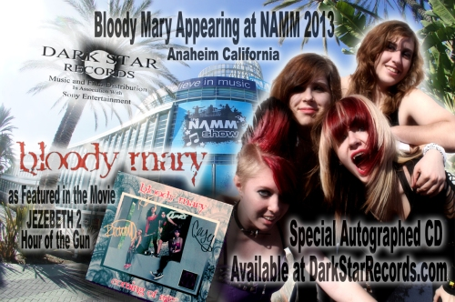Bloody Mary go to NAMM