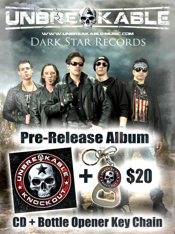 UNBREAKABLE Pre-Order CD