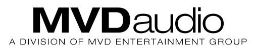 MVD Audio